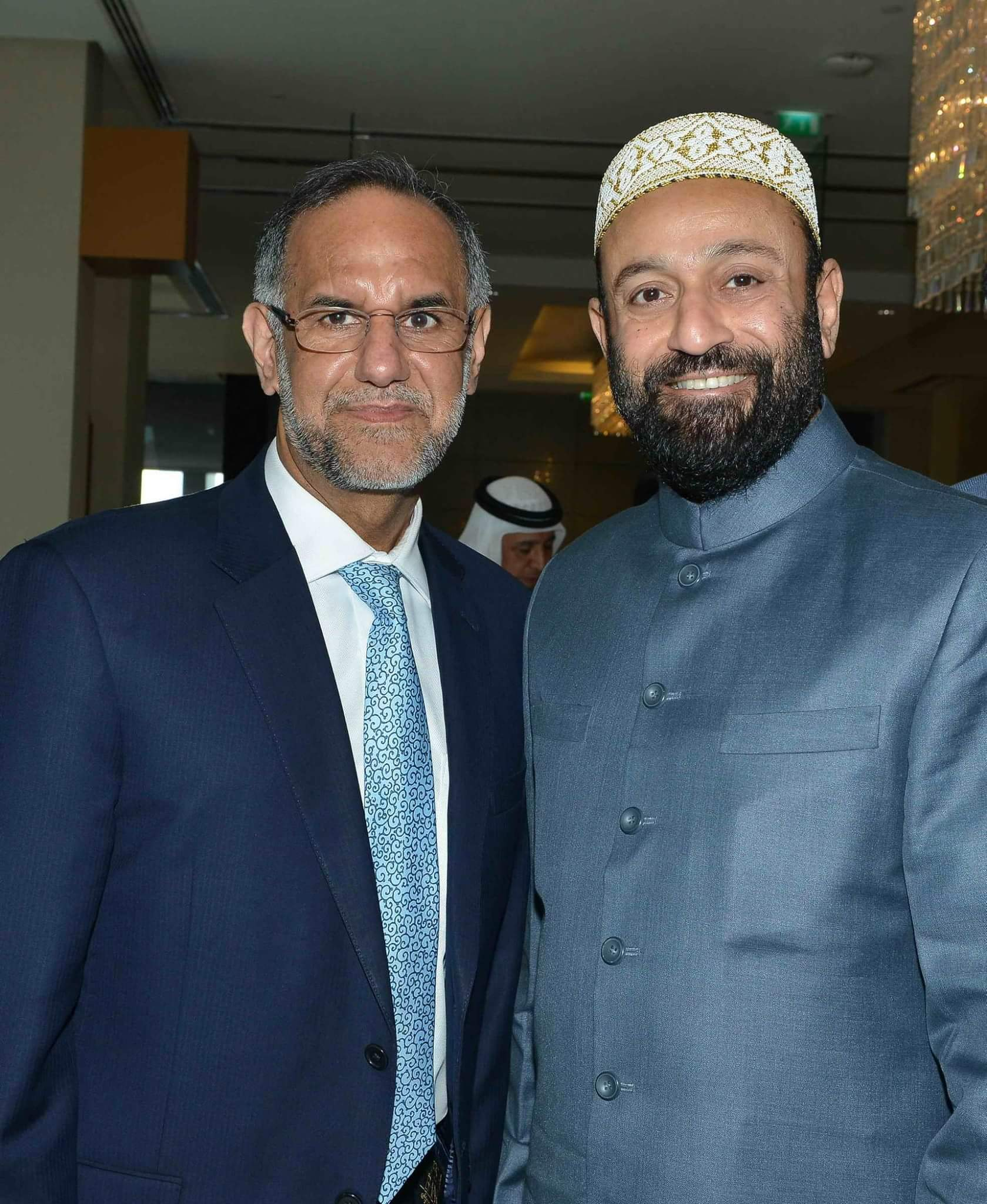 With H.E. Navdeep Singh Suri - High Commissioner of India to UAE.