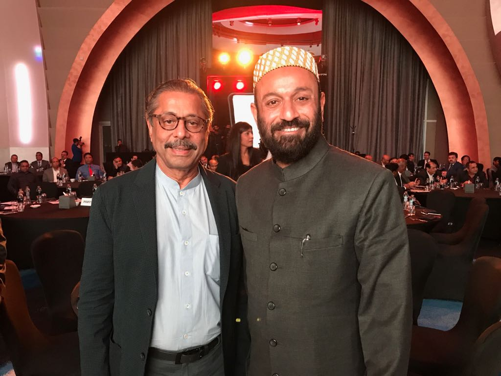 With Dr Naresh Trehan at UIBC Event, W Hotel, Dubai