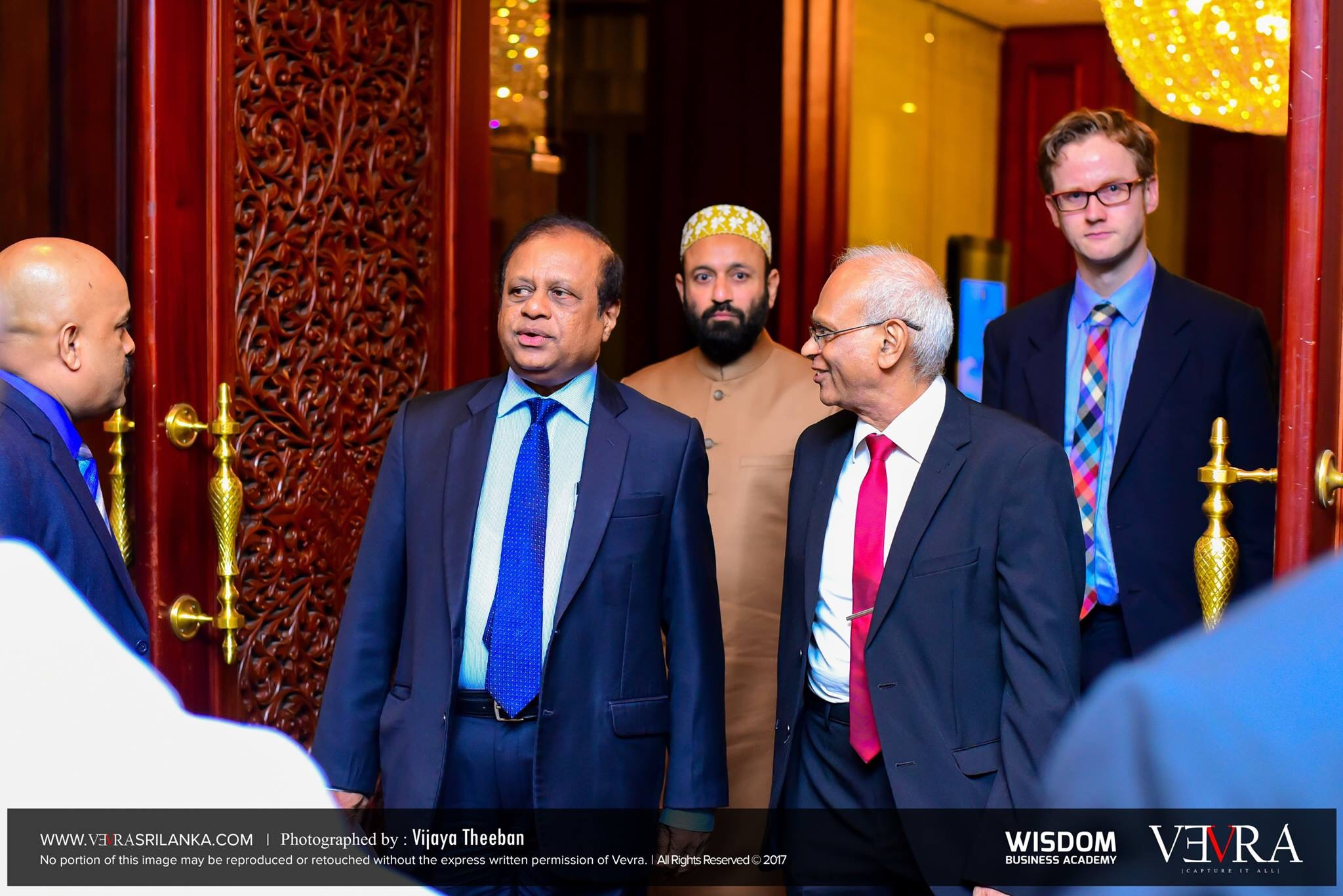At Colombo Attending Event with Mr. K C Logesgwaran - Governor Western Province Colombo