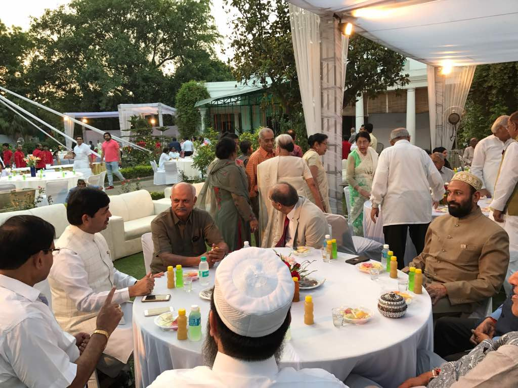 at Iftar Organised by Dr. M Wali at RB, New Delhi