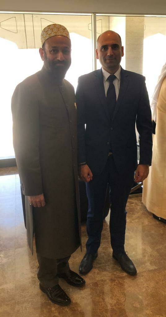 Dr. Mustafa Saasa with H.E.   Assaf Doumit – Consul General of Lebanon  to Dubai & Northern Emirates – UAE